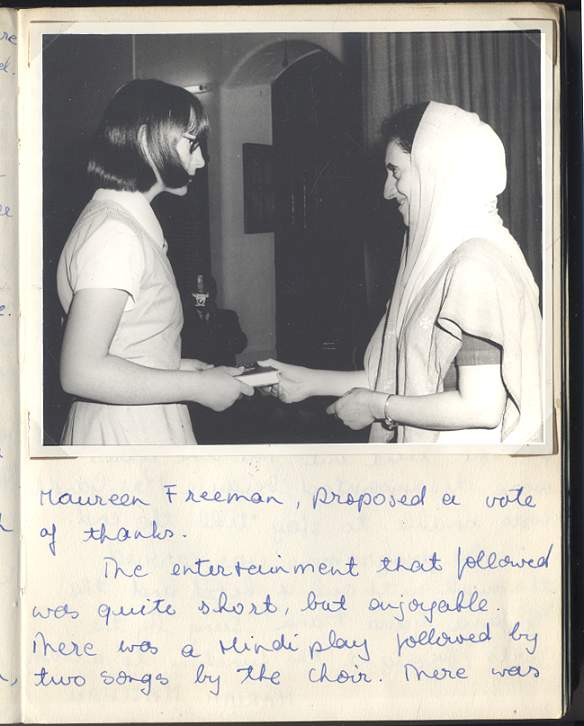 centenary prize day photo SK w Indira Gandhi